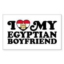 I Love My Egyptian Boyfriend Decal