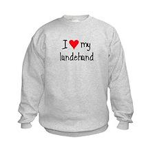 I LOVE MY Lundehund Sweatshirt