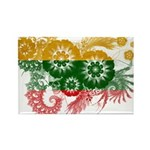Lithuania Flag Rectangle Magnet (100 pack)