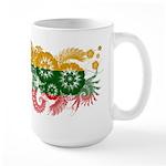 Lithuania Flag Large Mug