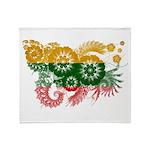 Lithuania Flag Throw Blanket