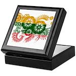 Lithuania Flag Keepsake Box