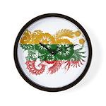Lithuania Flag Wall Clock