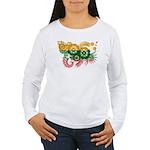 Lithuania Flag Women's Long Sleeve T-Shirt