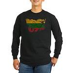 Lithuania Flag Long Sleeve Dark T-Shirt