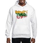 Lithuania Flag Hooded Sweatshirt