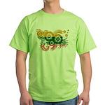 Lithuania Flag Green T-Shirt