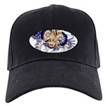 Louisiana Flag Black Cap