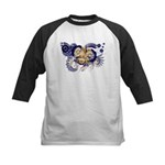 Louisiana Flag Kids Baseball Jersey