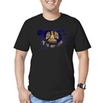 Louisiana Flag Men's Fitted T-Shirt (dark)