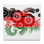 Malawi Flag Tile Coaster