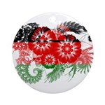 Malawi Flag Ornament (Round)