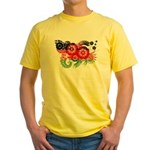 Malawi Flag Yellow T-Shirt