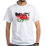 Malawi Flag White T-Shirt