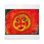 Sun Face Queen Duvet