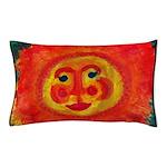 Sun Face Pillow Case
