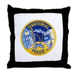 Alaska Territory Police Throw Pillow