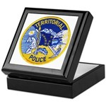 Alaska Territory Police Keepsake Box
