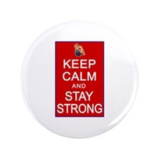 "Womens Rights Keep Calm Stay Strong 3.5"" Button"