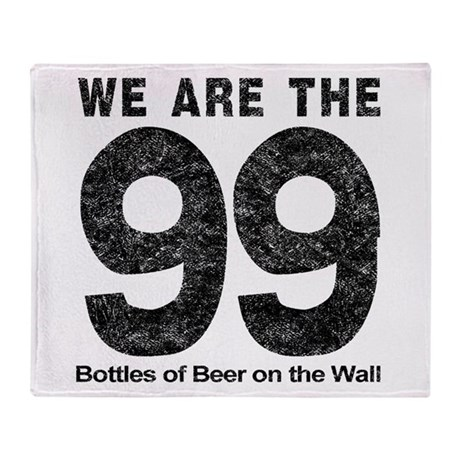 We Are The 99 Throw Blanket