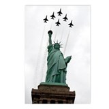 Thunderbirds Liberty Postcards (Package of 8)