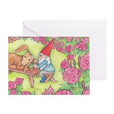 Unique Gnome Greeting Card