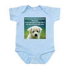 Cute Stress Infant Bodysuit
