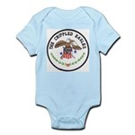 Crippled Eagle Infant Bodysuit