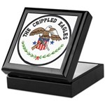 Crippled Eagle Keepsake Box