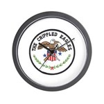 Crippled Eagle Wall Clock