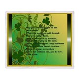 Irish Blessing 1 Throw Blanket