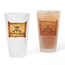 Pirata Cofres Drinking Glass