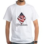 Freedom 1% White T-Shirt