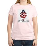 Freedom 1% Women's Pink T-Shirt