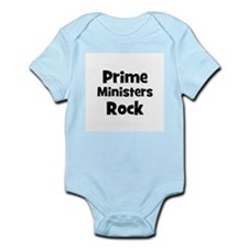 PRIME MINISTERS  Rock Infant Creeper