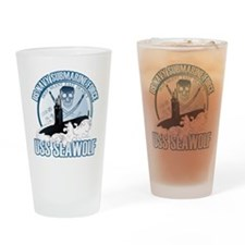 Jolly Roger [SSN 21] Drinking Glass