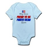 First Proud Puerto Rican Onesie