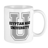 Egyptian Mau UNIVERSITY Small Mug