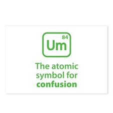 Symbol for Confusion Postcards (Package of 8)