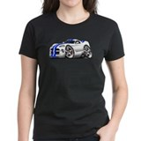 Viper GTS White-Blue Car Tee