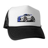 Viper GTS White-Blue Car Trucker Hat