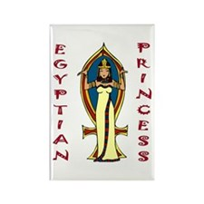 Egyptian Princess Rectangle Magnet