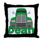 Trucker Dean Throw Pillow