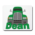 Trucker Dean Mousepad