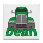 Trucker Dean Tile Coaster