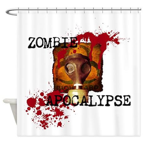 Gifts gt bathroom d 233 cor gt zombie apocalypse biohazard shower curtain