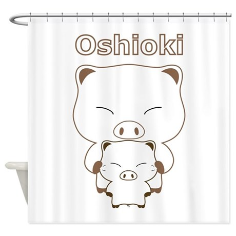 oshioki Shower Curtain