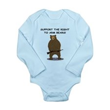 SUPPORT THE RIGHT TO ARM BEARS Long Sleeve Infant