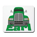 Trucker Earl Mousepad