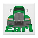 Trucker Earl Tile Coaster